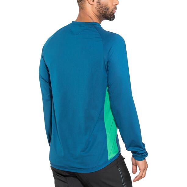 ION Traze AMP T-Shirt Langarm Herren ocean blue
