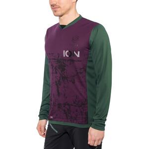 ION Scrub_Amp Langarm T-Shirt Herren green seek green seek