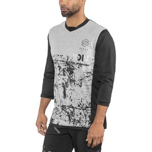 ION Scrub AMP 3/4 Arm T-Shirt Herren black black
