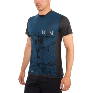 ION Scrub AMP Kurzarm T-Shirt Herren ocean blue ocean blue
