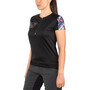 ION Traze T-Shirt Half-Zip Kurzarm Damen black