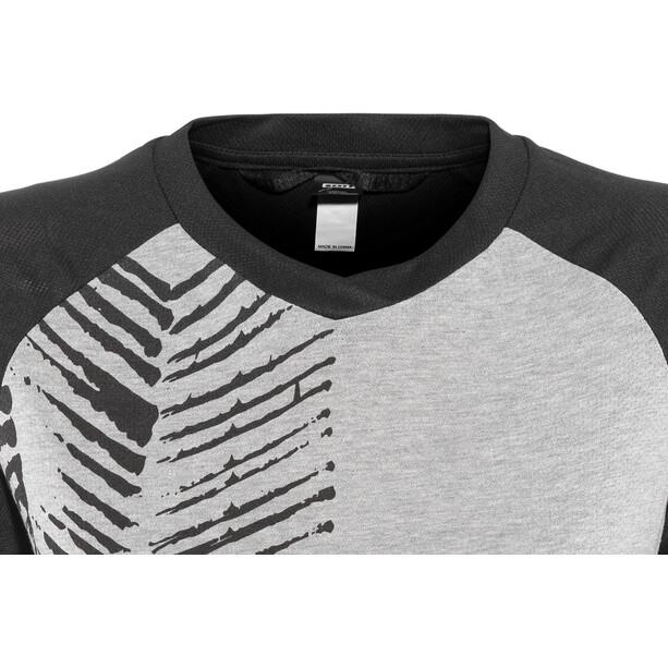 ION Scrub AMP T-Shirt Manches Longues 3/4 Femme, gris/noir