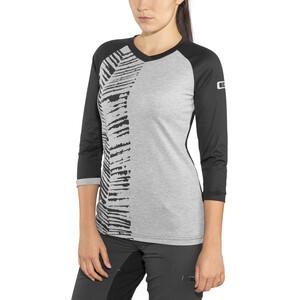 ION Scrub AMP 3/4-hihainen T-paita Naiset, grey melange grey melange