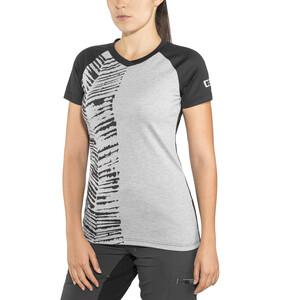 ION Scrub AMP Kurzarm T-Shirt Damen grey melange grey melange