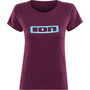 ION Logo T-Shirt Kurzarm Damen pink isover