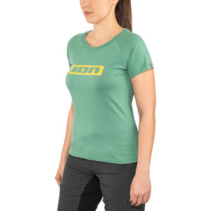 ION Logo T-Shirt Kurzarm Damen sea green sea green