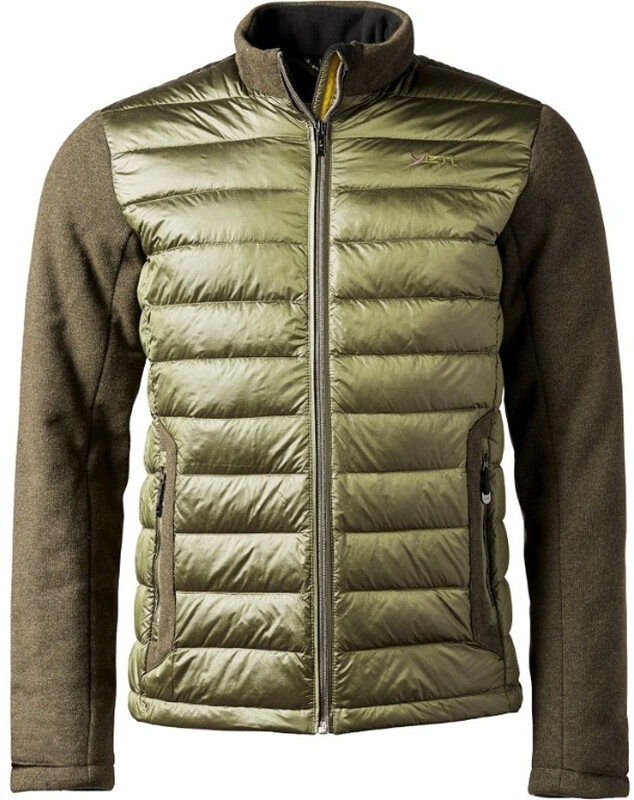 Yeti Fox Tecnowool Down Jacket Men dark olive S 2018 Hybridjacken, Gr. S