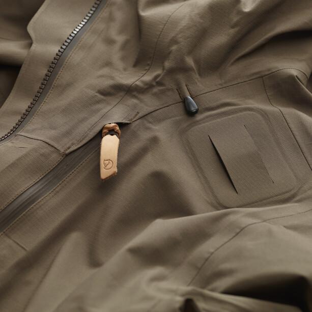 Fjällräven Lappland Eco Shell Jacke Damen dark olive