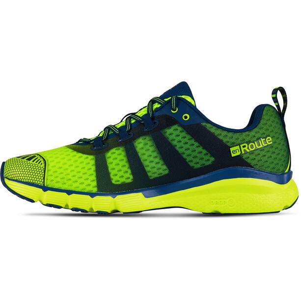 Salming enRoute 2 Schuhe Herren safety yellow/poseidon blue