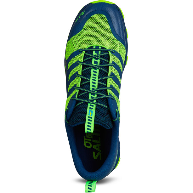 Salming OT Comp Schuhe Herren poseidon blue/safety yellow