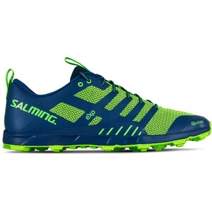 Salming OT Comp Shoes Herr poseidon blue/safety yellow poseidon blue/safety yellow