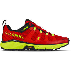 Salming Trail 5 Shoes Dam poppy red/safety yellow poppy red/safety yellow