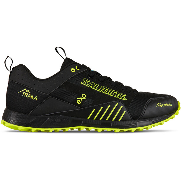 Salming Trail T4 Shoes Herr black/safety yellow