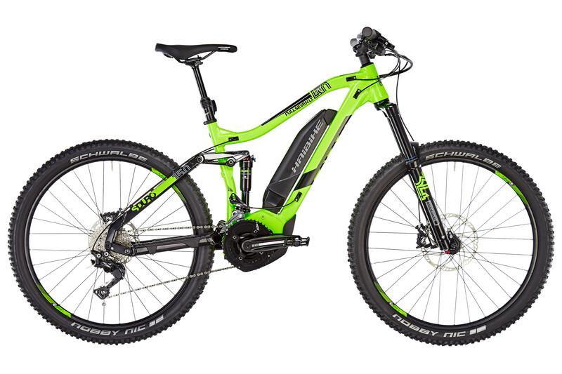 HAIBIKE SDURO FullSeven LT 4.0 El-fulldempet MTB Herre Grønn/Svart M | 44cm (27.5) 2019 Fulldempet El-sykkel