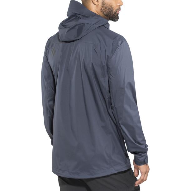 Black Diamond Stormline Stretch Rain Shell Jacket Herr captain