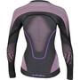 UYN Evolutyon Melange UW LS Shirt Dam svart/violett