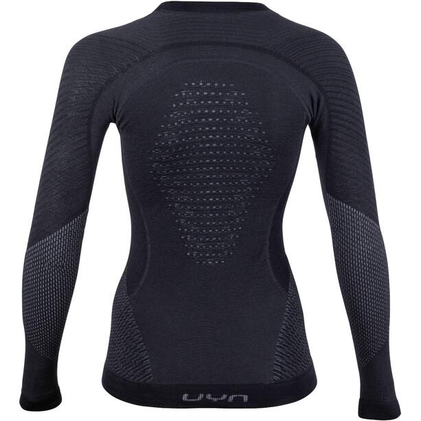UYN Fusyon UW LS Shirt Dam black/anthracite/anthracite