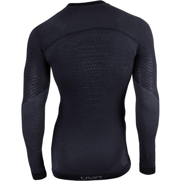 UYN Fusyon UW LS Shirt Herr black/anthracite/anthracite