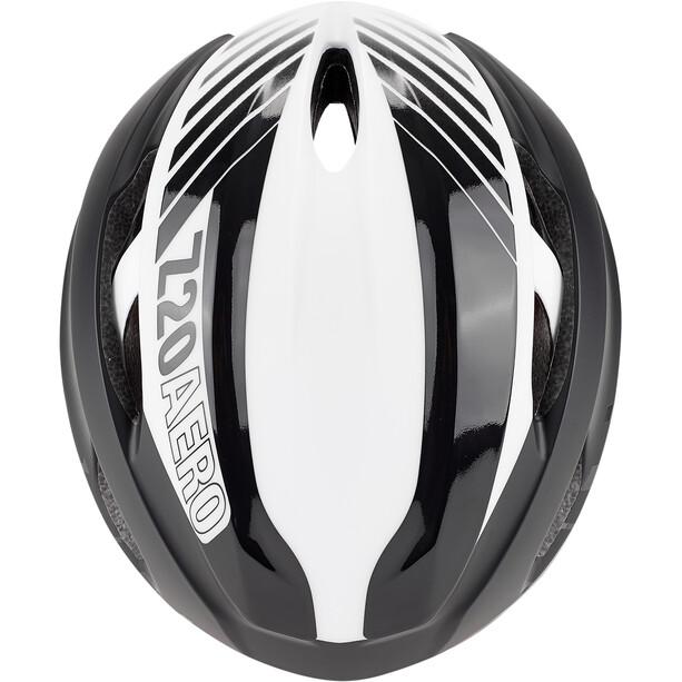 Bell Z20 Aero MIPS Helm matte/gloss black/white/crimson
