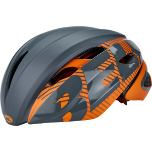 Bell Z20 Aero MIPS Helm matte/gloss slate/orange matte/gloss slate/orange