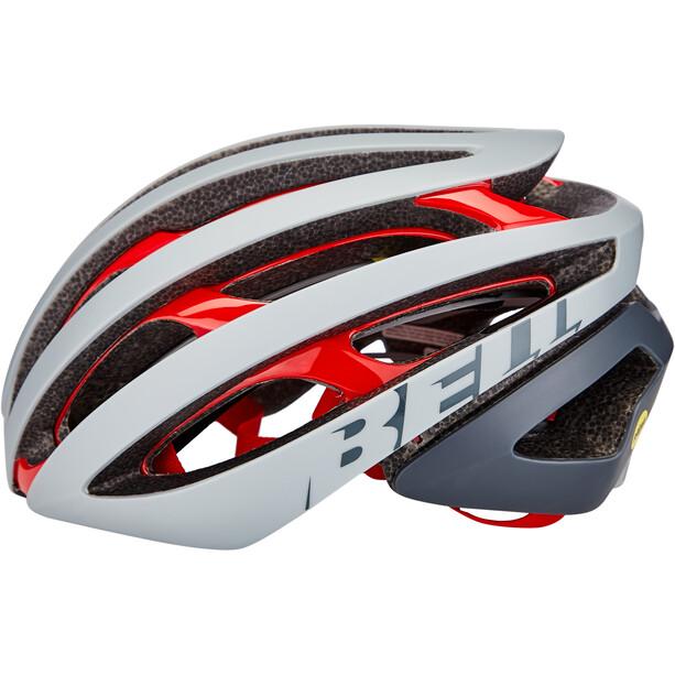 Bell Z20 MIPS Helm remix matte/gloss gray/crimson
