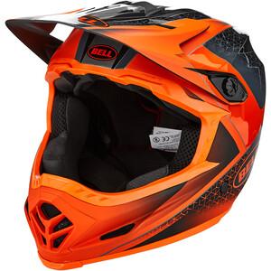 BELL Full-9 ヘルメット マット/グロス グレー/ダーク グレー/オレンジ