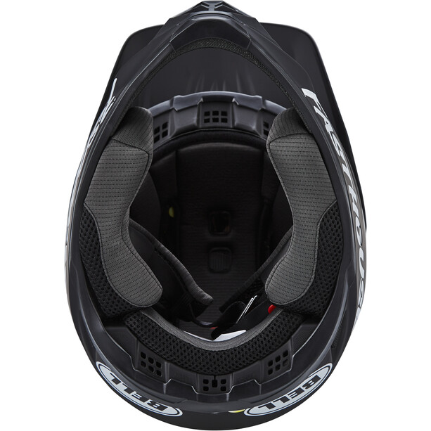 Bell Full-9 Fusion MIPS Helm matte black/white fasthouse