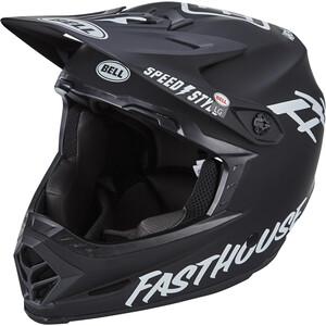 """BELL Full-9 Fusion MIPS ヘルメット マット ブラック/ホワイト """"FASTHOUSE"""""""