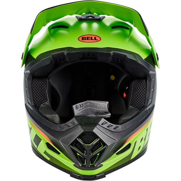 Bell Full-9 Fusion MIPS Helm matte/gloss black/green