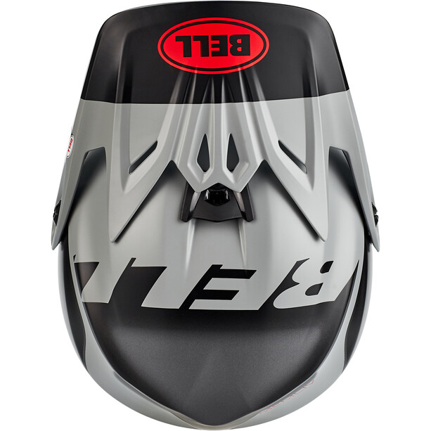 Bell Full-9 Fusion MIPS Helm matte/gloss gray/crimson