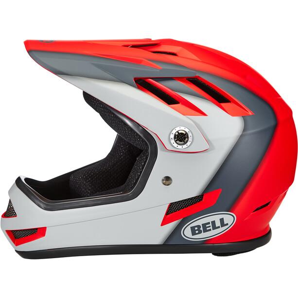 Bell Sanction Helm presences matte crimson/slate/dark gray
