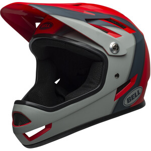 Bell Sanction Helm presences matte crimson/slate/dark gray presences matte crimson/slate/dark gray