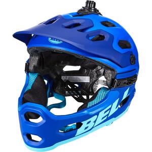 Bell Super 3R MIPS Helm matte blue/bright blue matte blue/bright blue