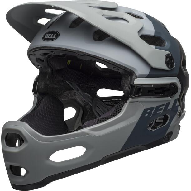 Bell Super 3R MIPS Helm downdraft matte gray/gunmetal