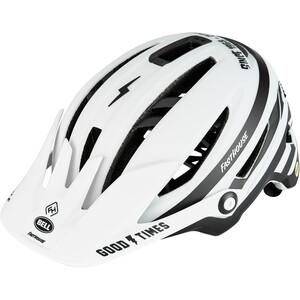 Bell Sixer MIPS Helm weiß/schwarz weiß/schwarz