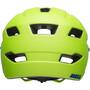 Bell Sidetrack Helm Kinder matte bright green/blue
