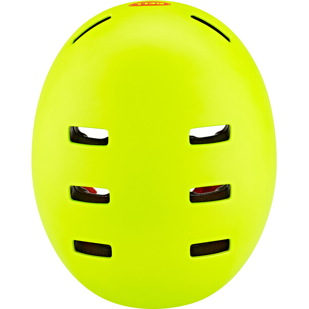 Bell Span Helm Kinder matte bright green