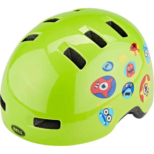 Bell Lil Ripper Helmet Barn green monster