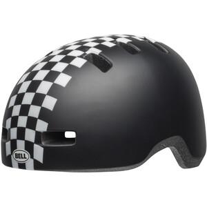 BELL Lilper ヘルメット キッズ マット ブラック/ホワイト チェック