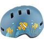 Bell Lil Ripper Helm Kinder matte gray/blue fish
