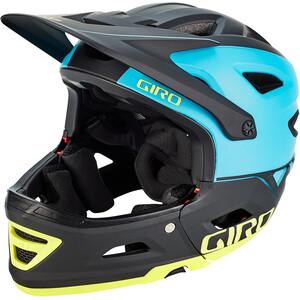 Giro Switchblade MIPS Helm türkis/schwarz türkis/schwarz