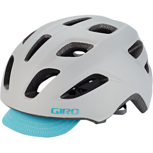 Giro Trella Helm Damen matte grey/dark teal matte grey/dark teal
