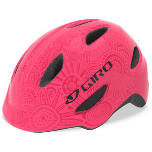 Giro Scamp Helm Kinder bright pink/pearl bright pink/pearl