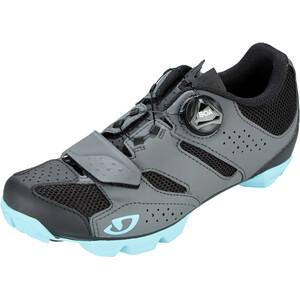 Giro Cylinder kengät Naiset, harmaa harmaa