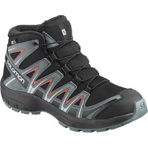 Salomon XA Pro 3D Mid Shoes Barn black/stormy weather/cherry tomato black/stormy weather/cherry tomato