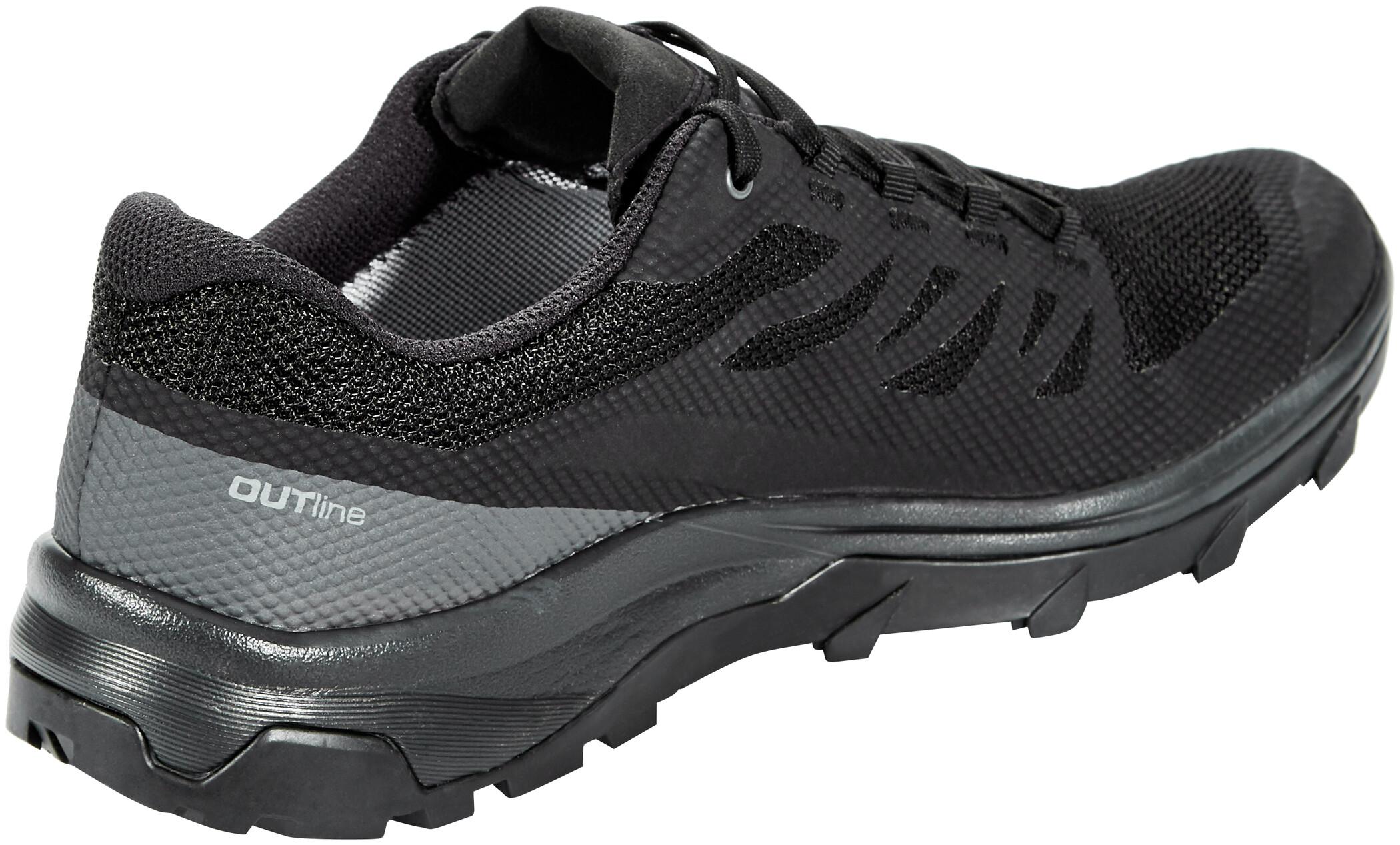 Salomon OUTline GTX Shoes Herr blackphantommagnet