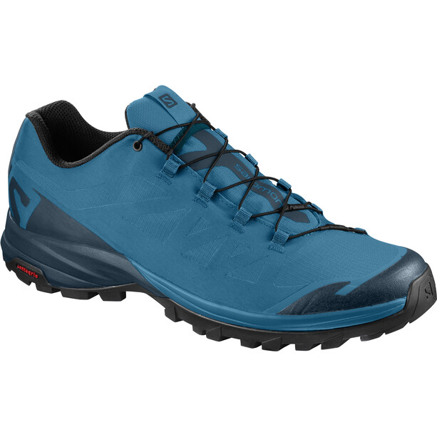 Salomon OUTpath Shoes Herr fjord blue/reflecting pond/black