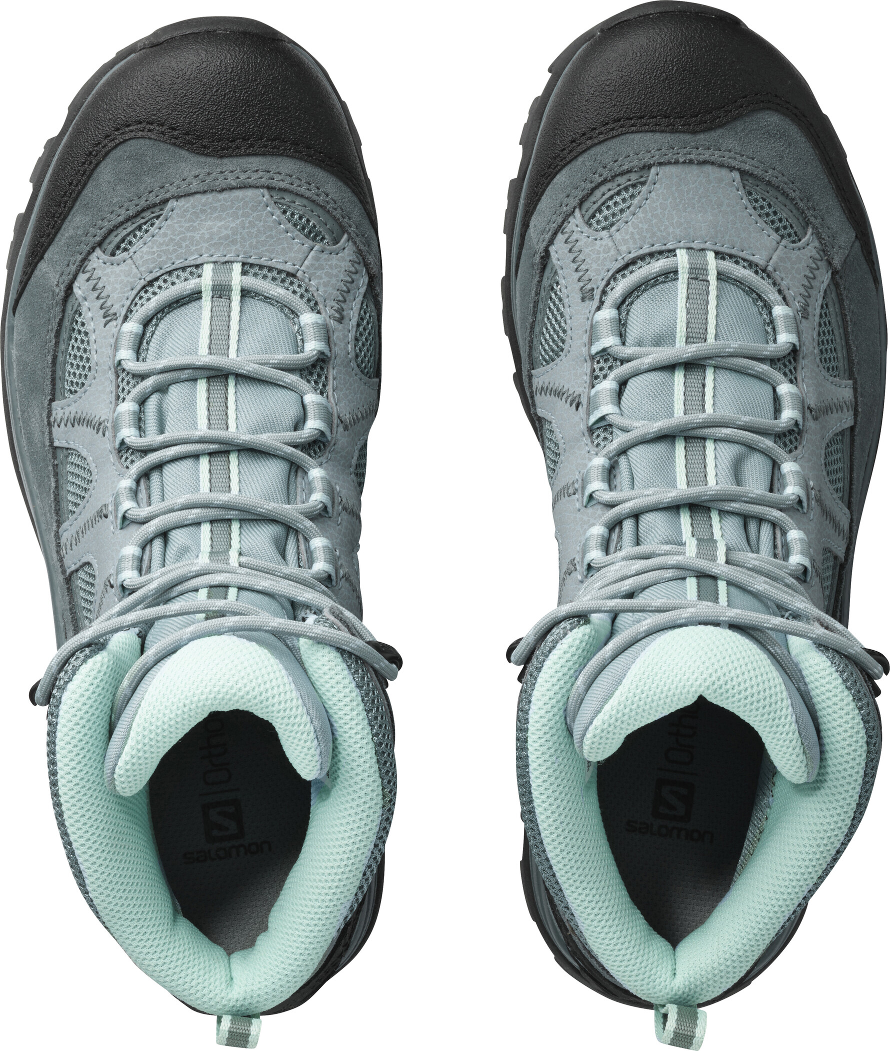 Salomon Authentic LTR GTX Shoes Dam leadstormy weathereggshell blue