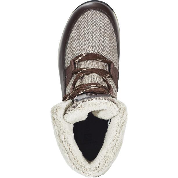 Salomon Heika CS WP Shoes Dam black coffee/cinder/black