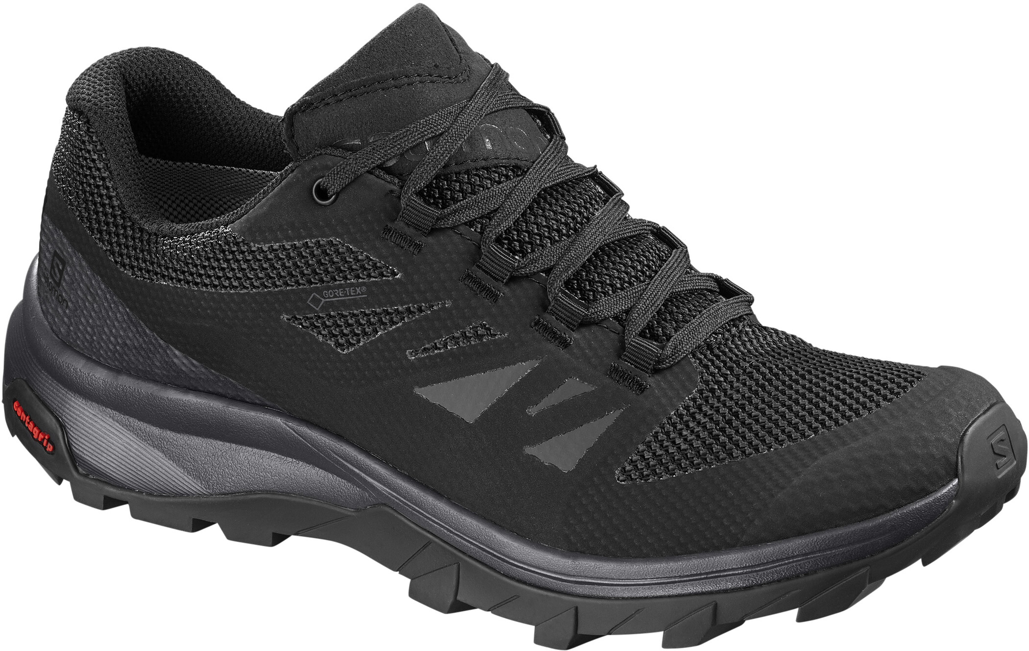 Salomon OUTline GTX Shoes Dam phantomblackmagnet